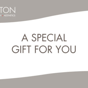 "Gift Certificate that reads ""A special gift for you"""