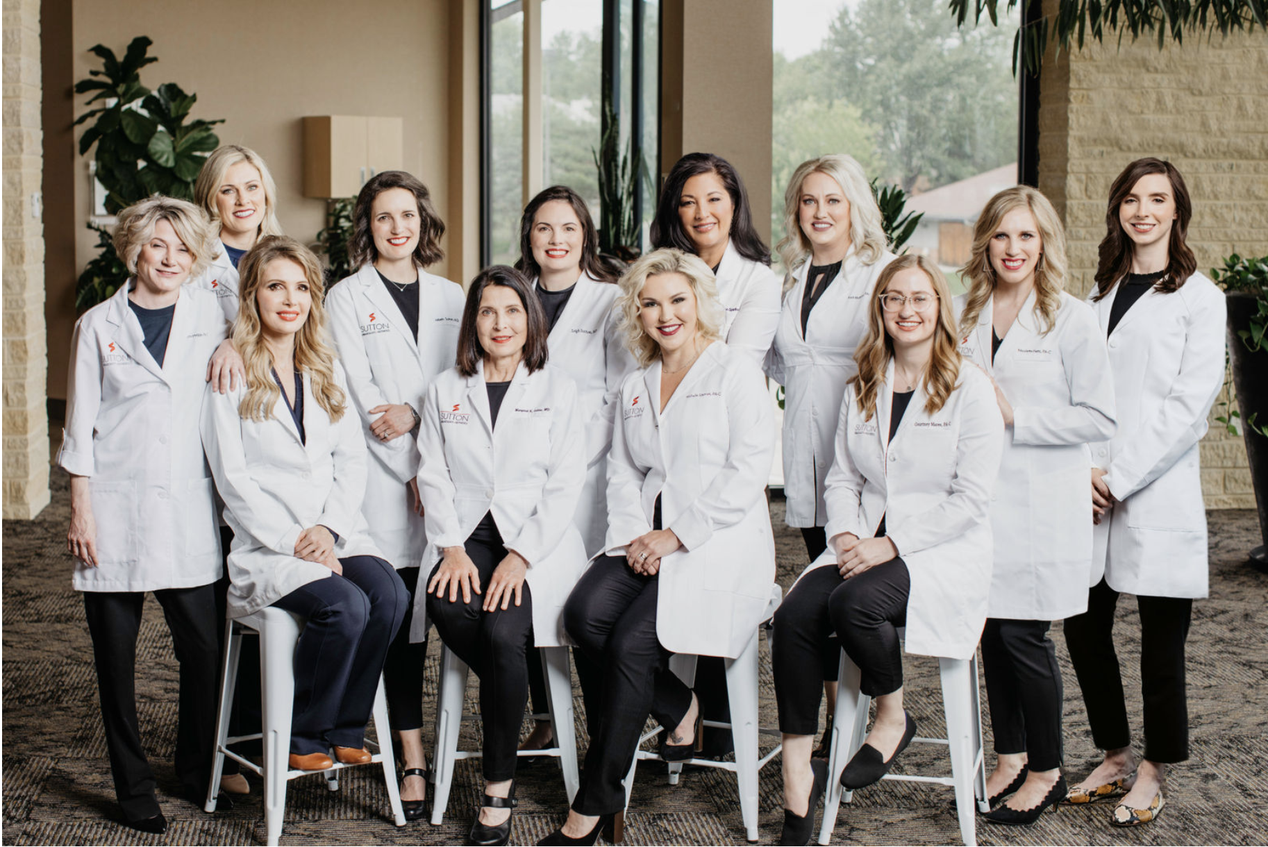 Sutton Dermatology & Aesthetics providers group picture