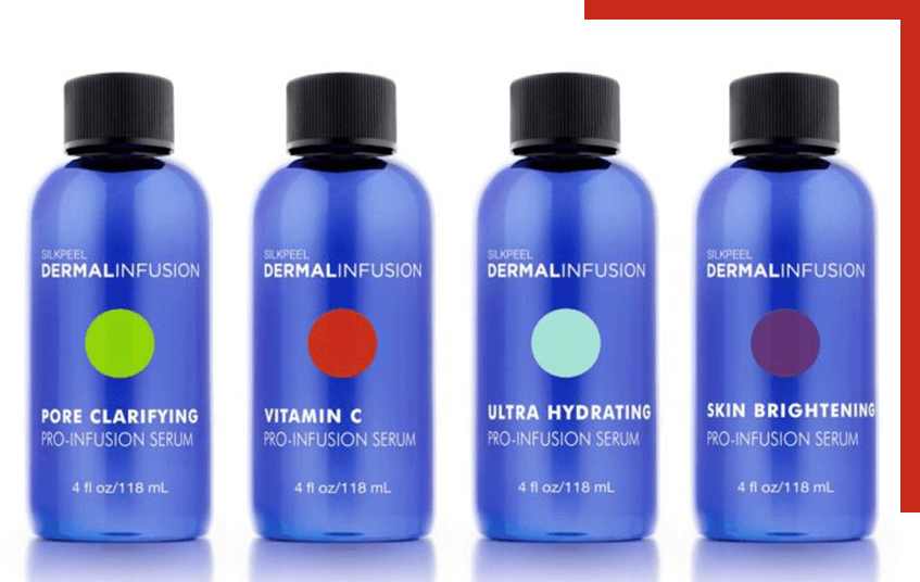 Dermal Infusion skin care lineup